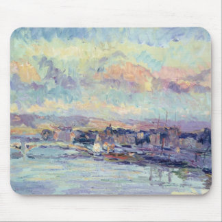 View of Paris (oil on canvas) Mouse Pad