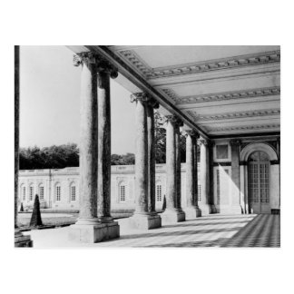 View of peristyle and left wing of the Trianon Postcard