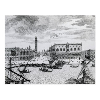View of Piazza San Marco from the Bacino, Venice Postcard
