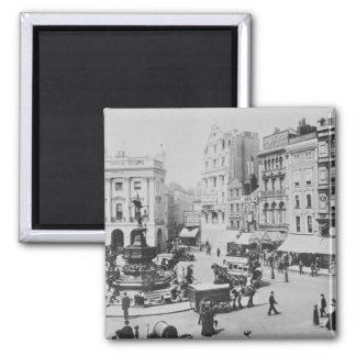 View of Piccadilly Circus, c. 1900 Magnet