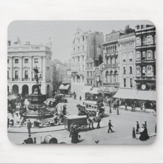View of Piccadilly Circus, c. 1900 Mouse Pad