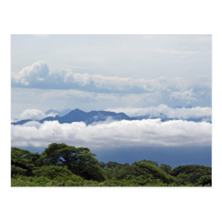 View of Puerto Vallarta Mountains Postcard