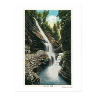View of Rainbow Falls Postcard