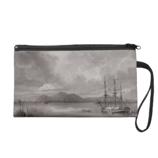 View of Rio de Manila (lithograph) Wristlet Purse