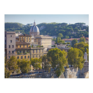 View of Rome from Castel Sant' Angelo Postcard