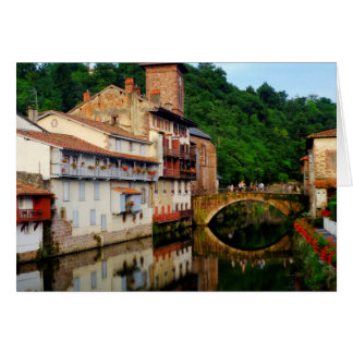 View of Saint Jean Pied de Port Card