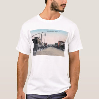 View of San Benito StreetHollister, CA T-Shirt