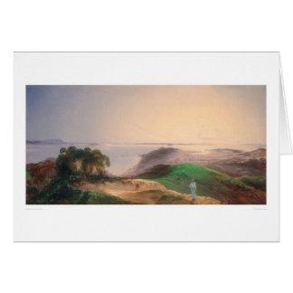 View of San Francisco Bay (0576A) Greeting Card