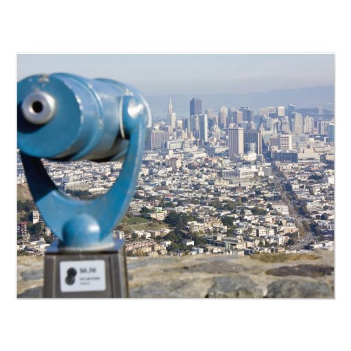 View of San Francsco (Viewer Blurred) Invitation