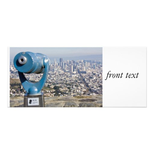 View of San Francsco (Viewer Blurred) Announcement