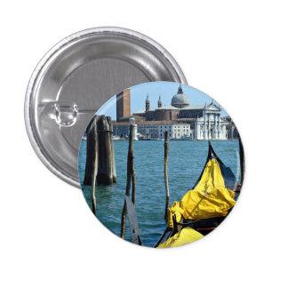 View of San Giorgio Maggiore, Venice, Italy 3 Cm Round Badge