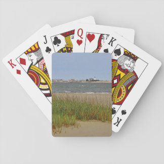 View of Sandy Neck Light and Village Playing Cards