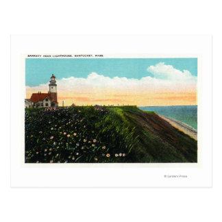 View of Sankaty Head Lighthouse Postcard