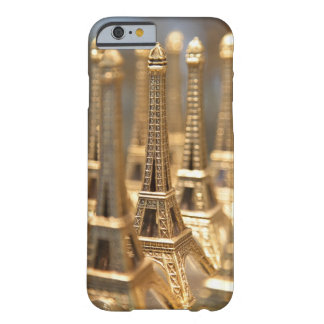 view of small eiffel towers for sale to tourists barely there iPhone 6 case