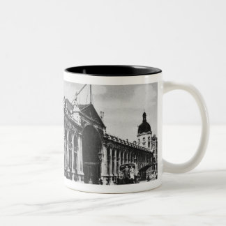 View of Smithfield Meat Market, c.1905 Two-Tone Coffee Mug