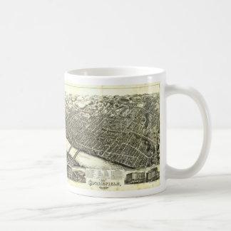 View of Springfield Massachusetts (1875) Basic White Mug
