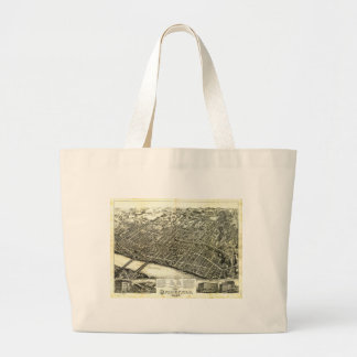 View of Springfield Massachusetts (1875) Jumbo Tote Bag