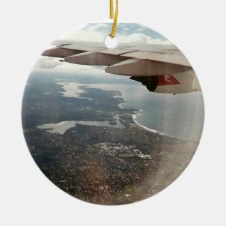 View of Sydney Round Ceramic Decoration