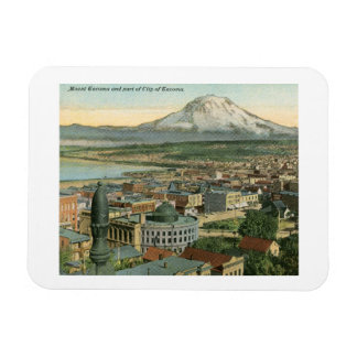 View of Tacoma, Washington 1911 Vintage Magnet