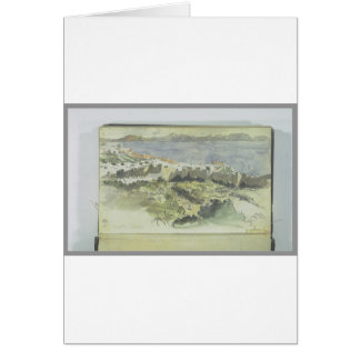 View of Tangier by Eugene Delacroix Greeting Card