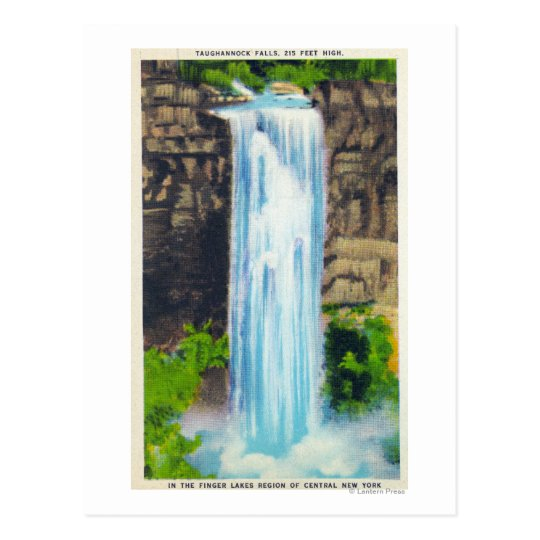 View of Taughannock Falls Postcard