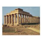 View of Temple E, c.490-480 BC Postcard
