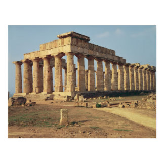 View of Temple E, c.490-480 BC Postcard