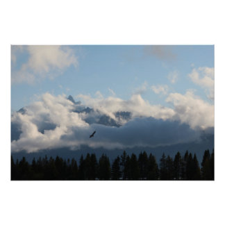 View of Tetons from Colter Bay Posters