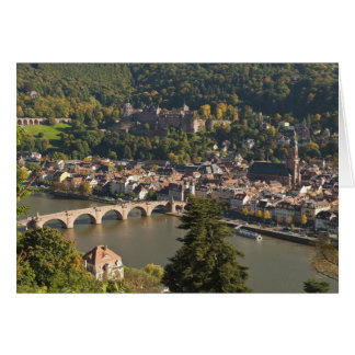 View of the Alte Brucke or Old Bridge Greeting Card