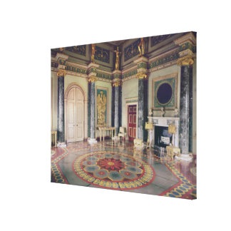 View of the Ante Room Stretched Canvas Prints