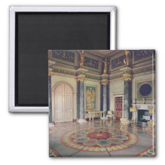 View of the Ante Room Square Magnet