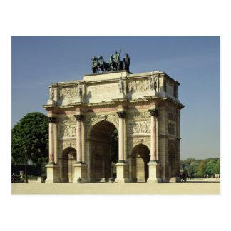 View of the Arc de Triomphe du Carrousel Postcard