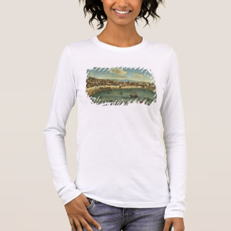 View of The Bay of Naples from the Bay of Chiaia ( Long Sleeve T-Shirt