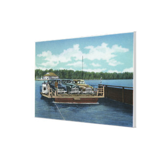 View of the Bemus Point and Stow Ferry Canvas Print