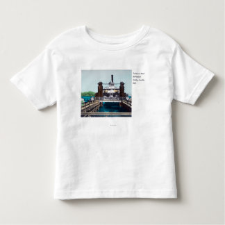 View of the Berkeley Ferryboat Trade Fair Toddler T-Shirt