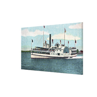 View of the Block Island Ferry Stretched Canvas Prints