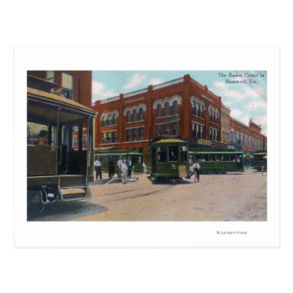 View of the Busiest CornerBeaumont, TX Postcard