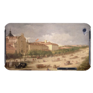 View of the Calle de Alcala, Madrid (oil on canvas Barely There iPod Cases