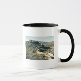 View of the castle, 8th-12th century mug