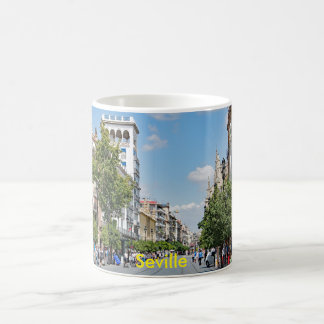 View of the center of Seville Coffee Mug
