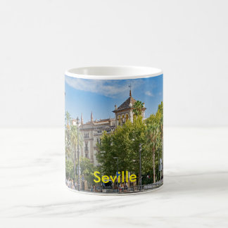 View of the central part of Seville Coffee Mug