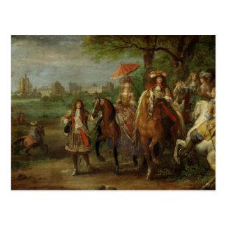 View of the Chateau de Vincennes Postcard