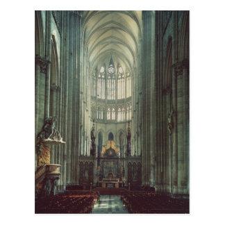 View of the choir postcard