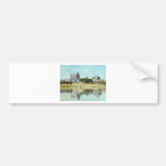 View of the Church at Vernon by Claude Monet Bumper Sticker