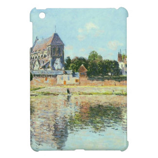 View of the Church at Vernon by Claude Monet Cover For The iPad Mini