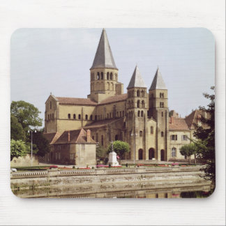 View of the Church of Notre-Dame Mouse Pad