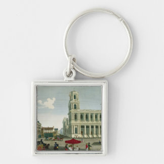 View of the Church of Saint-Sulpice Keychain