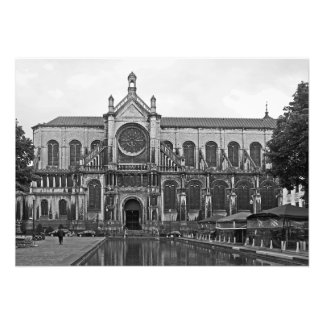 View of the Church of St. Catherine in Brussels Photo Print