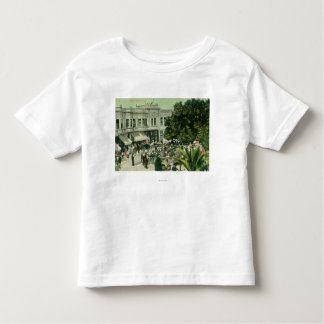 View of the CirclePalo Alto, CA Toddler T-Shirt