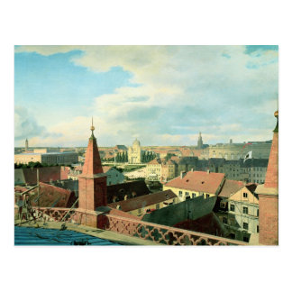 View of the city of Berlin with Altes Museum Postcard